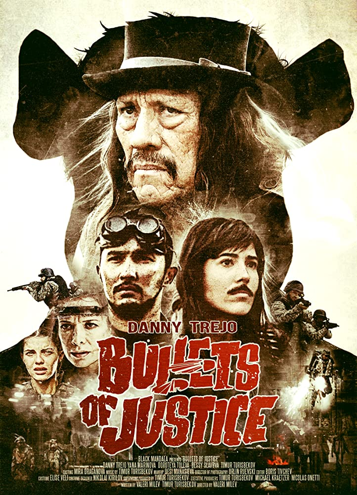 Bullets of Justice Danny Trejo Poster 1