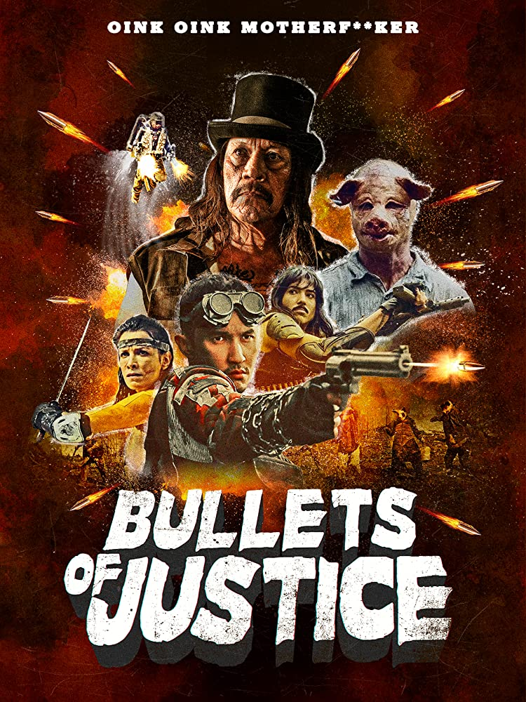 Bullets of Justice Danny Trejo Poster 2