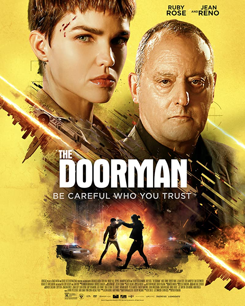 The Doorman Ruby Rose Poster