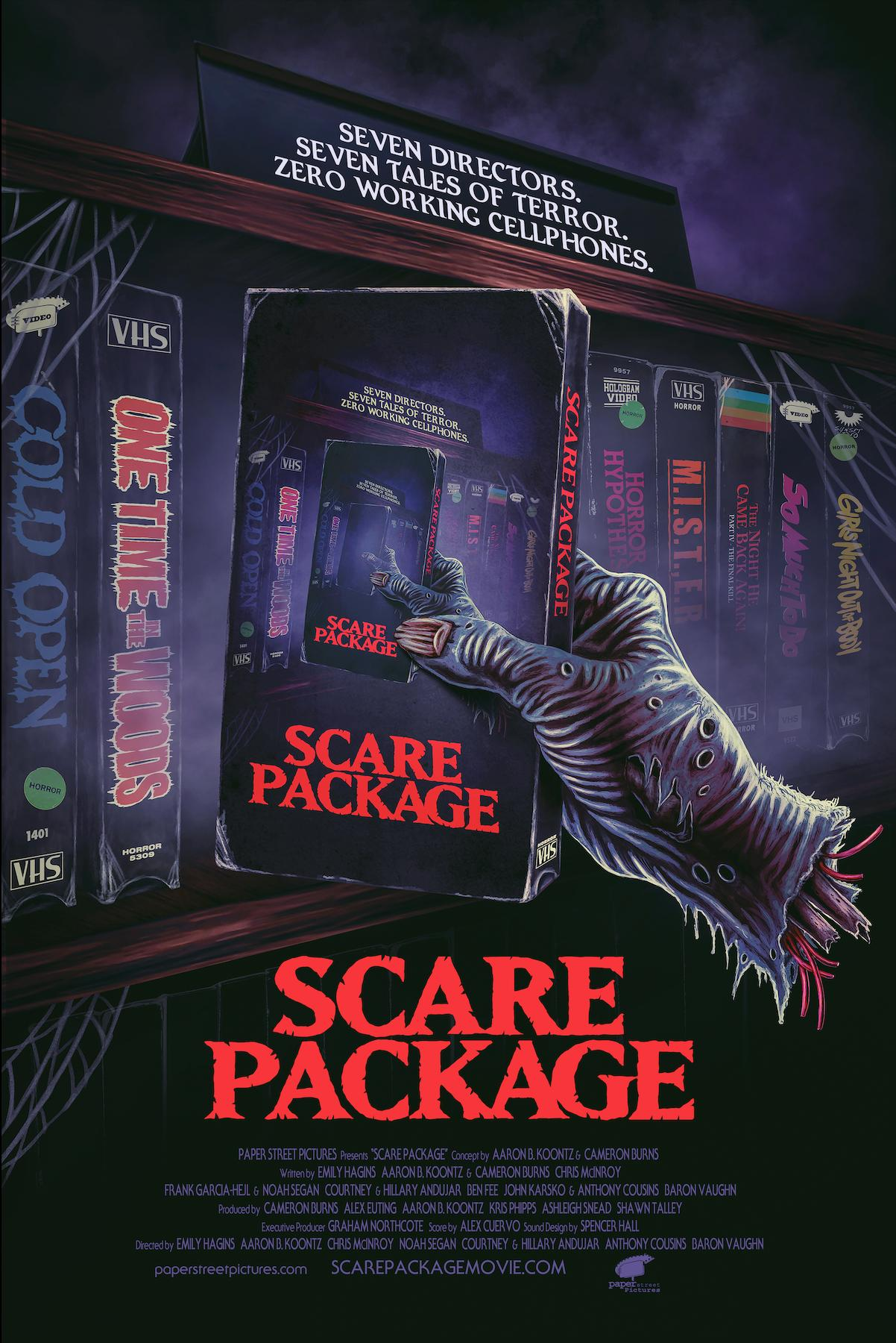 Scare Package Traler & Poster