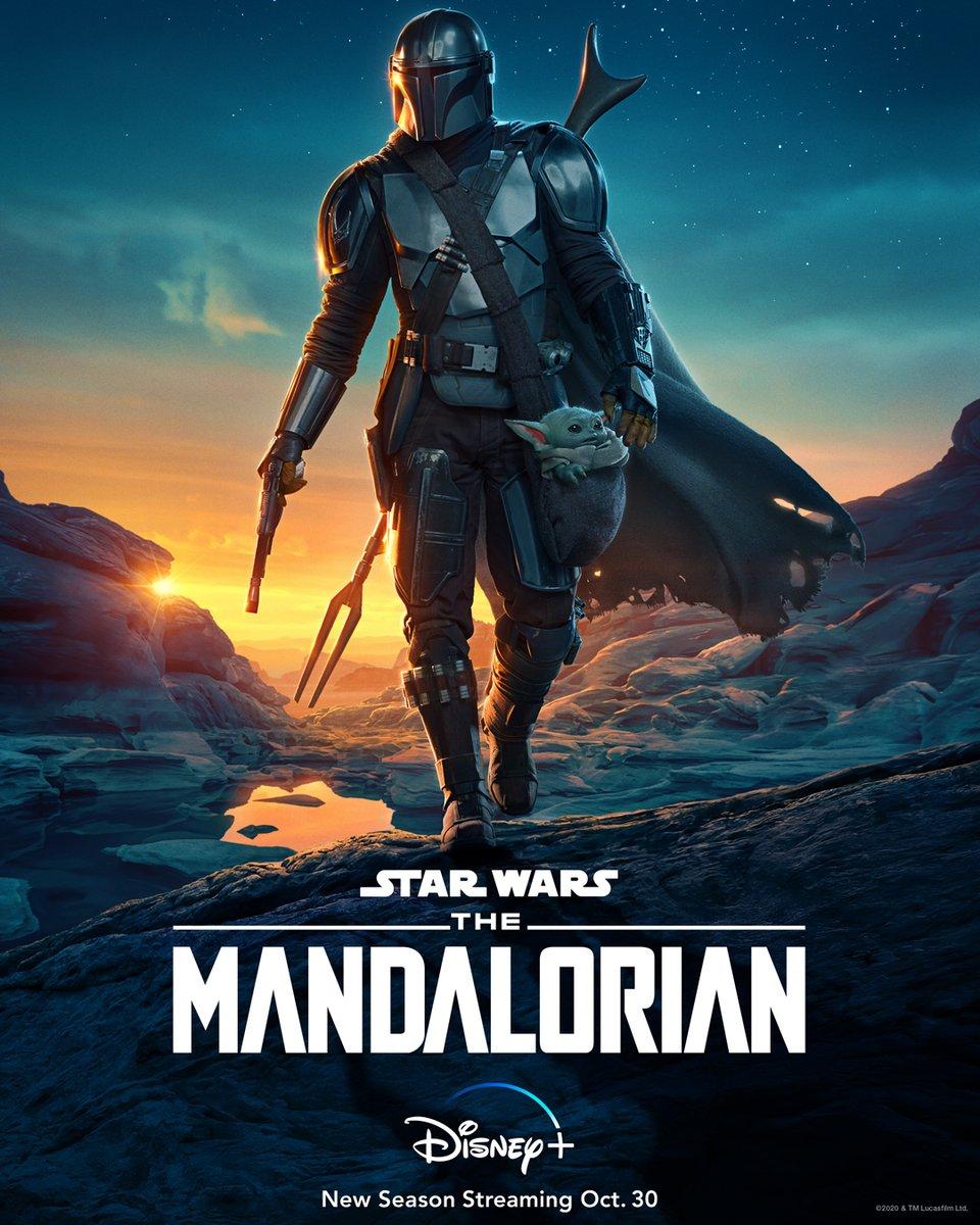 The Mandalorian Staffel 2 Starttermin & Poster