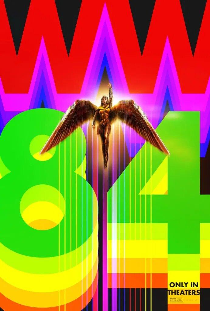 Wonder Woman 1984 Laufzeit Poster 4