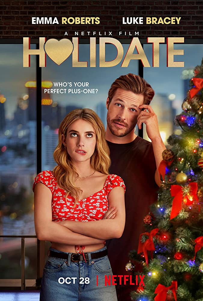Holidate Emma Roberts Poster