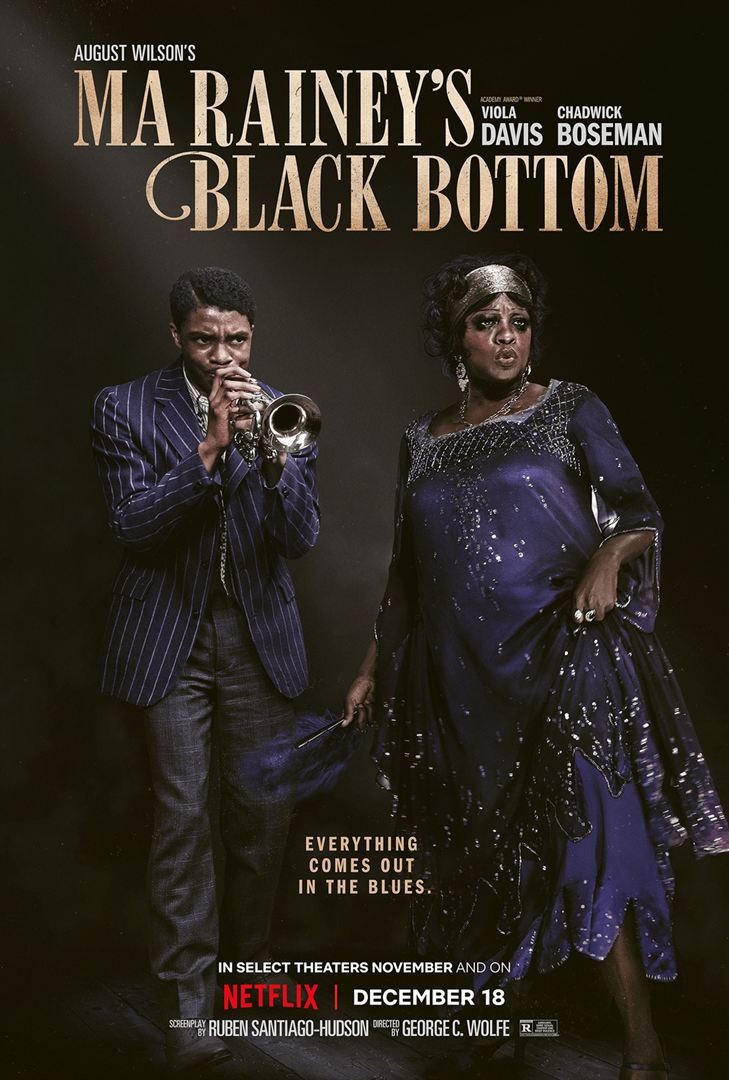 Ma Raineys Black Bottom Chadewick Boseman Poster 1