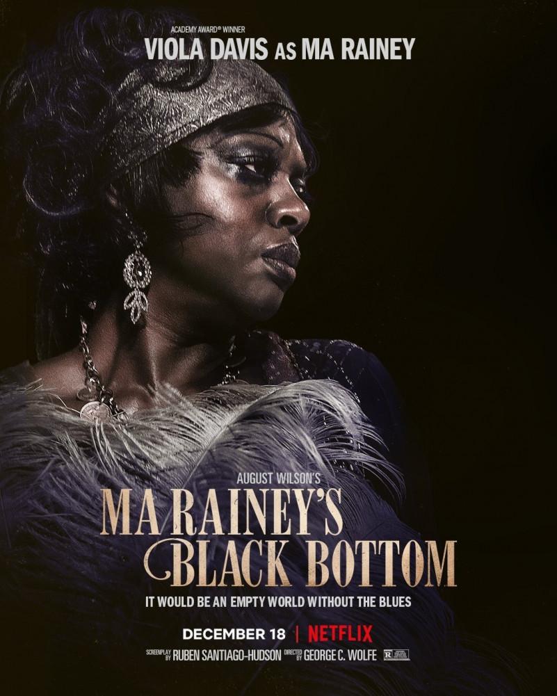 Ma Raineys Black Bottom Chadewick Boseman Poster 2