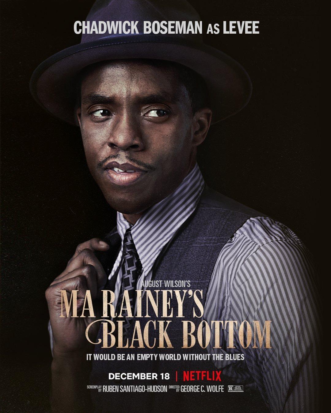 Ma Raineys Black Bottom Chadewick Boseman Poster 3