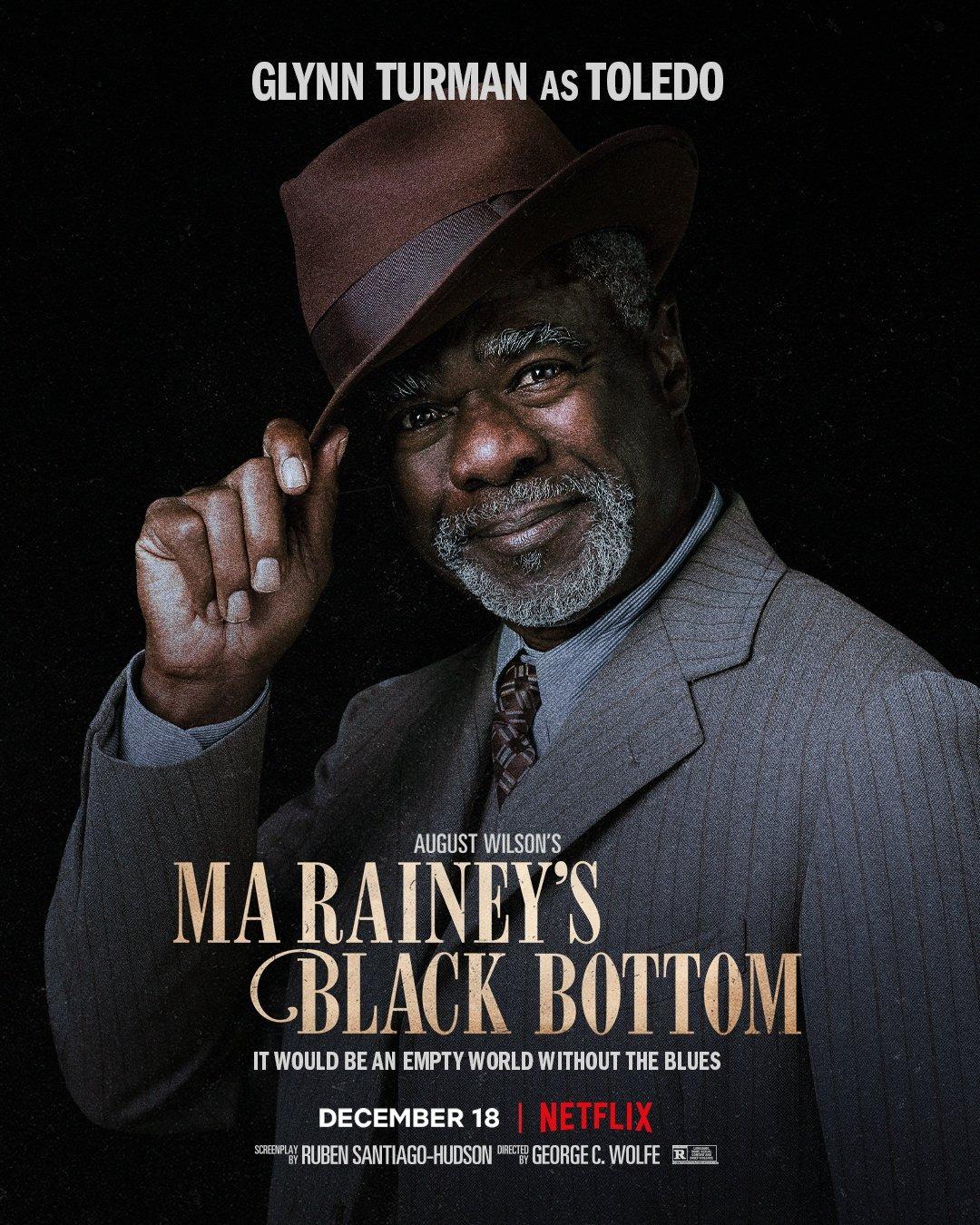 Ma Raineys Black Bottom Chadewick Boseman Poster 4