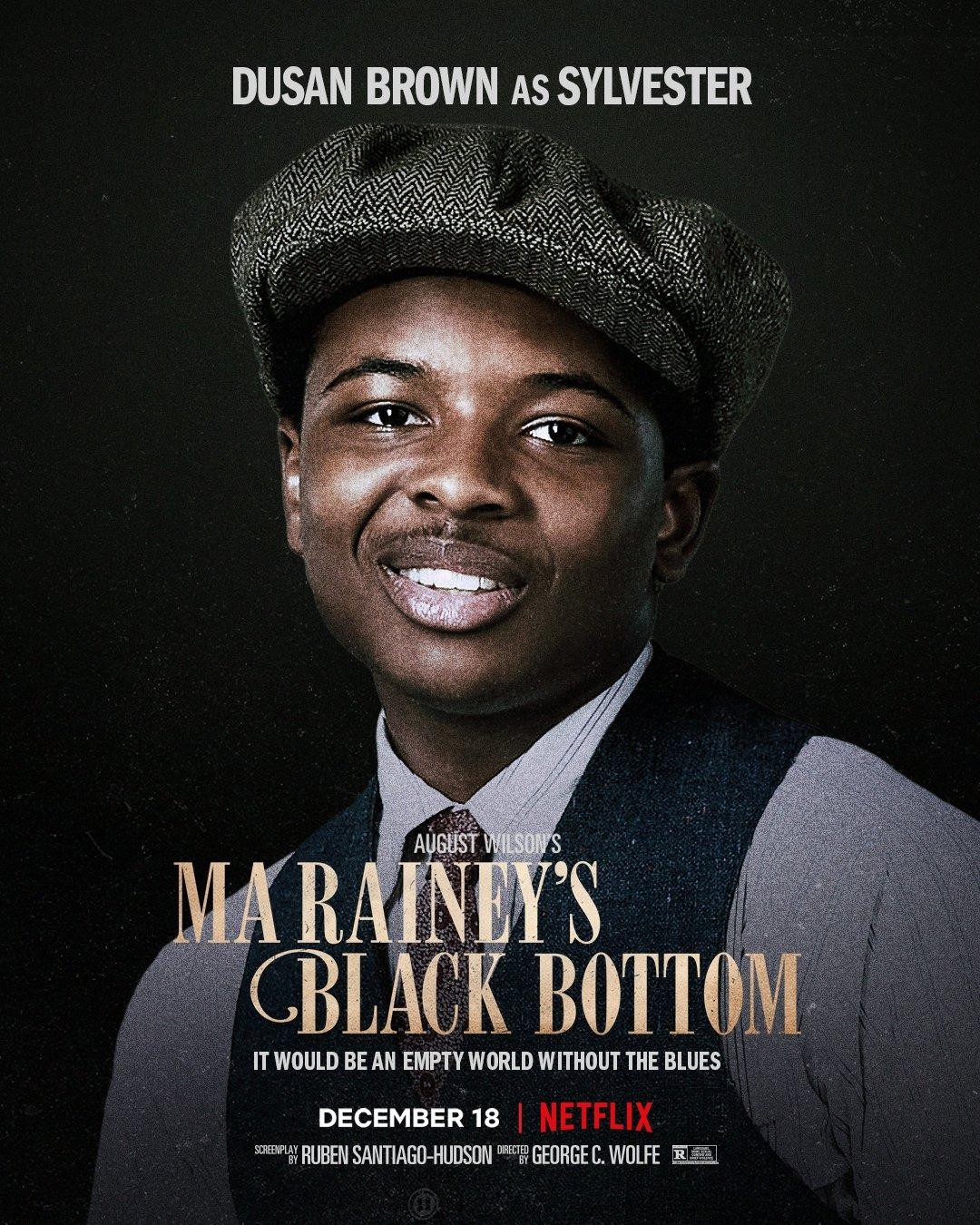 Ma Raineys Black Bottom Chadewick Boseman Poster 5