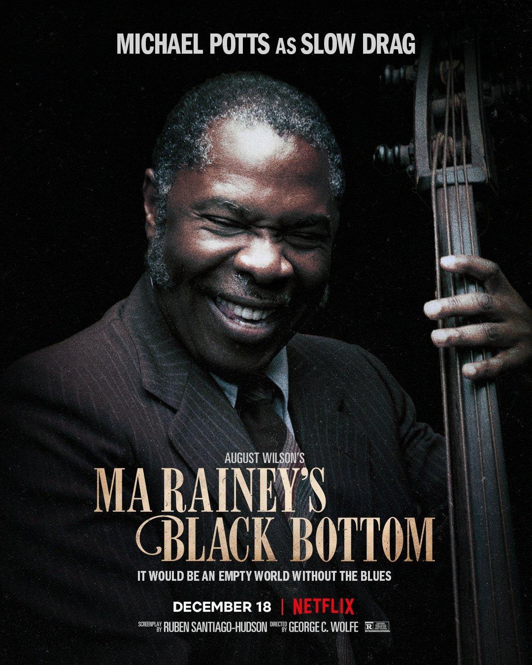 Ma Raineys Black Bottom Chadewick Boseman Poster 7