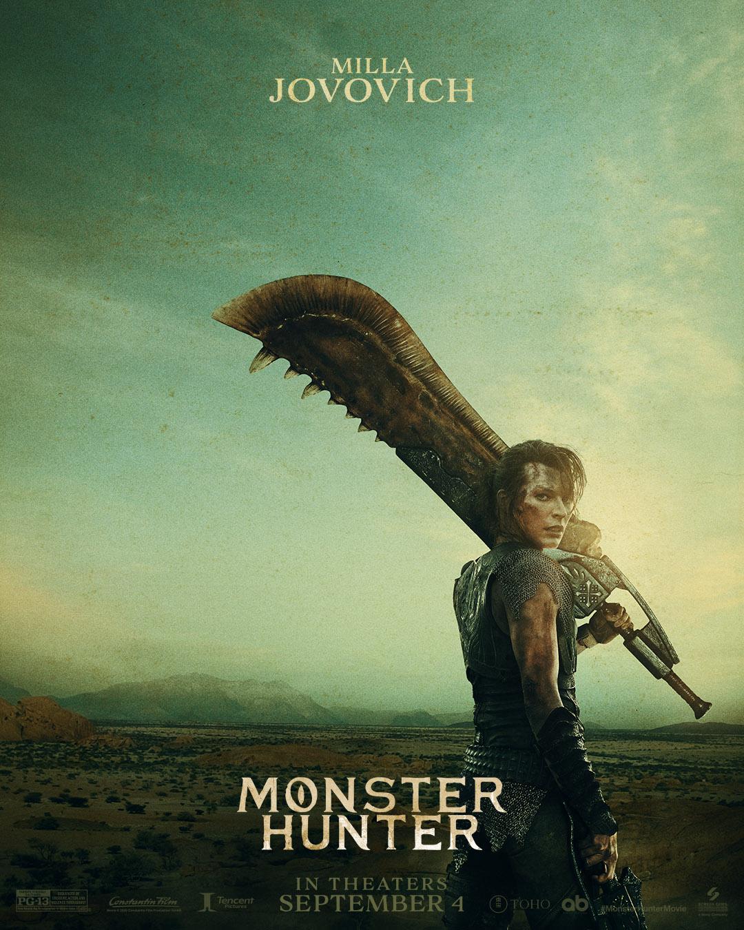 Monster Hunter Teaserposter 1