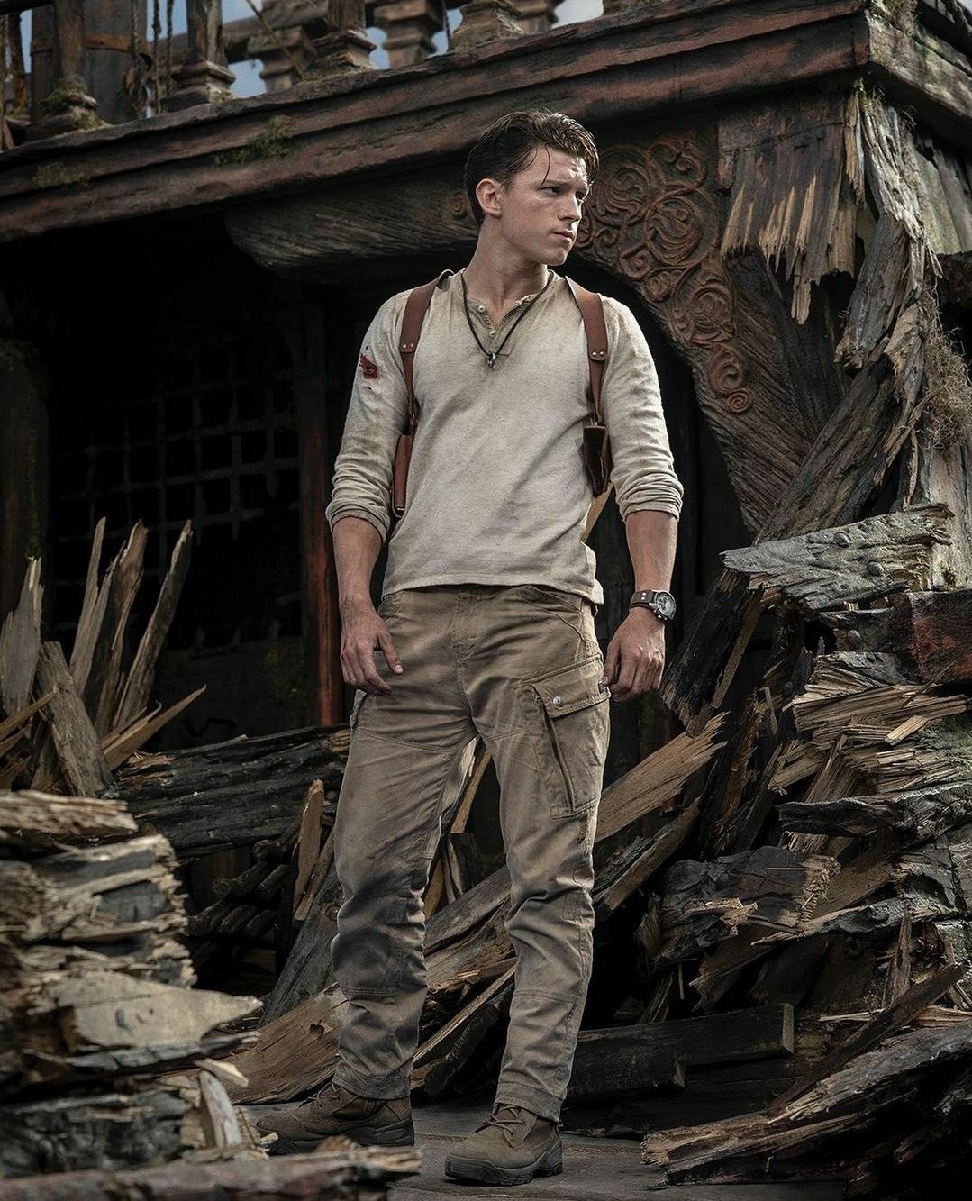 Uncharted Tom Holland Foto