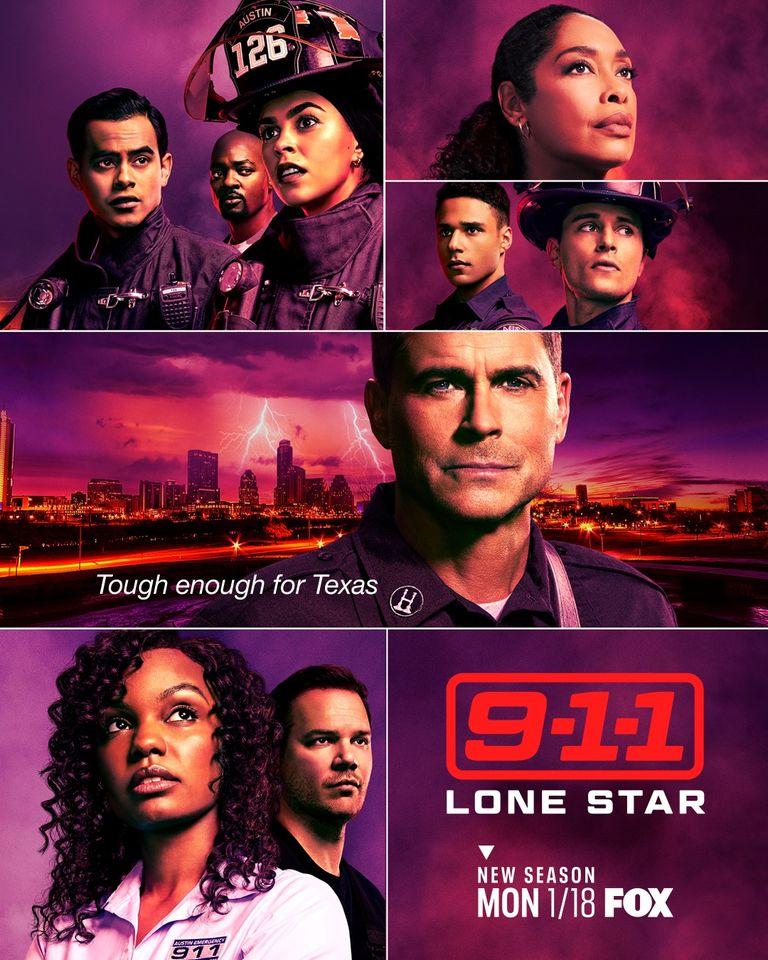 911 Lone Star Staffel 2 Start & Poster