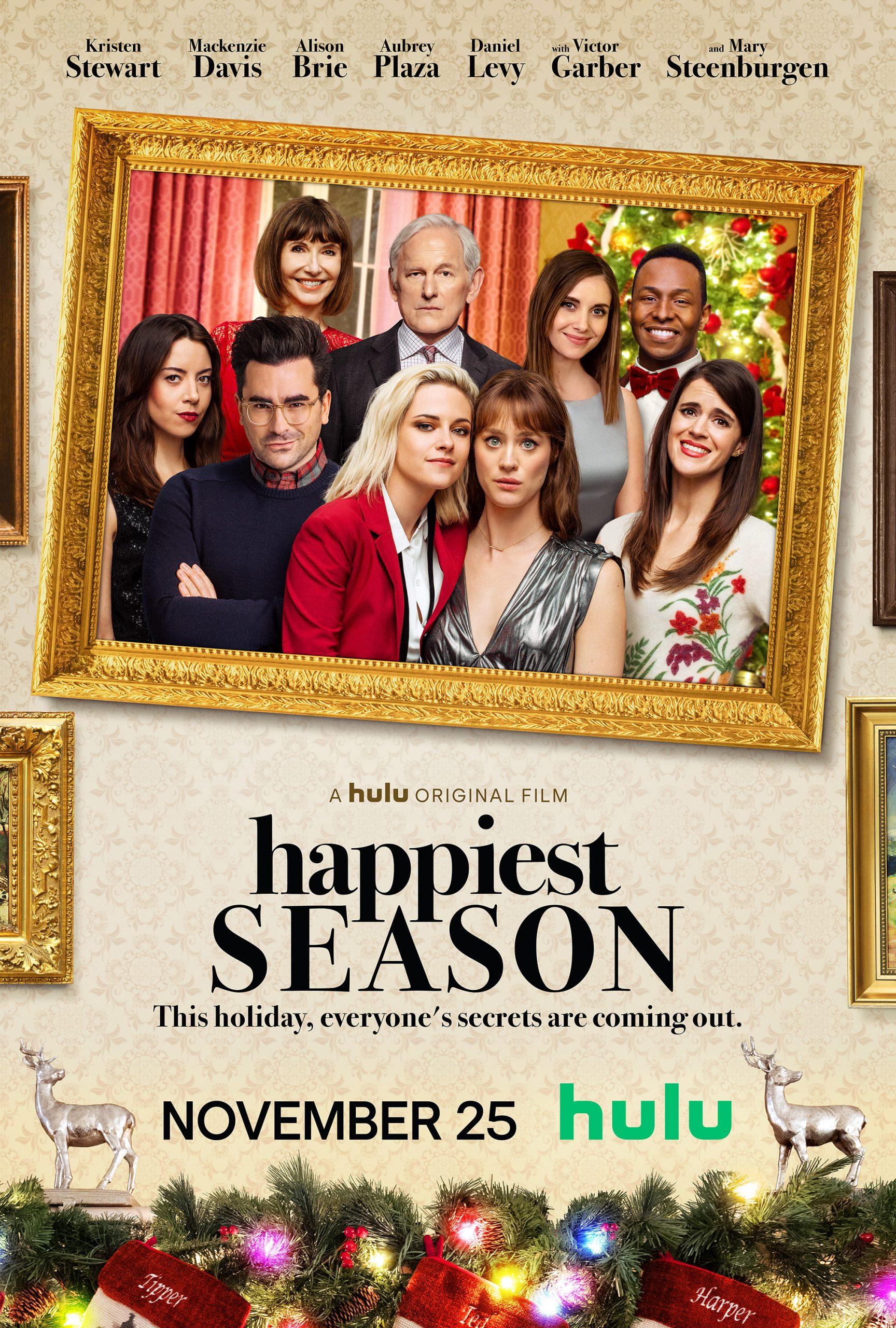 Happiest Season Kirsten Stewart Poster