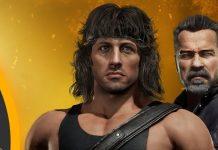Mortal Kombat 11 Rambo T800