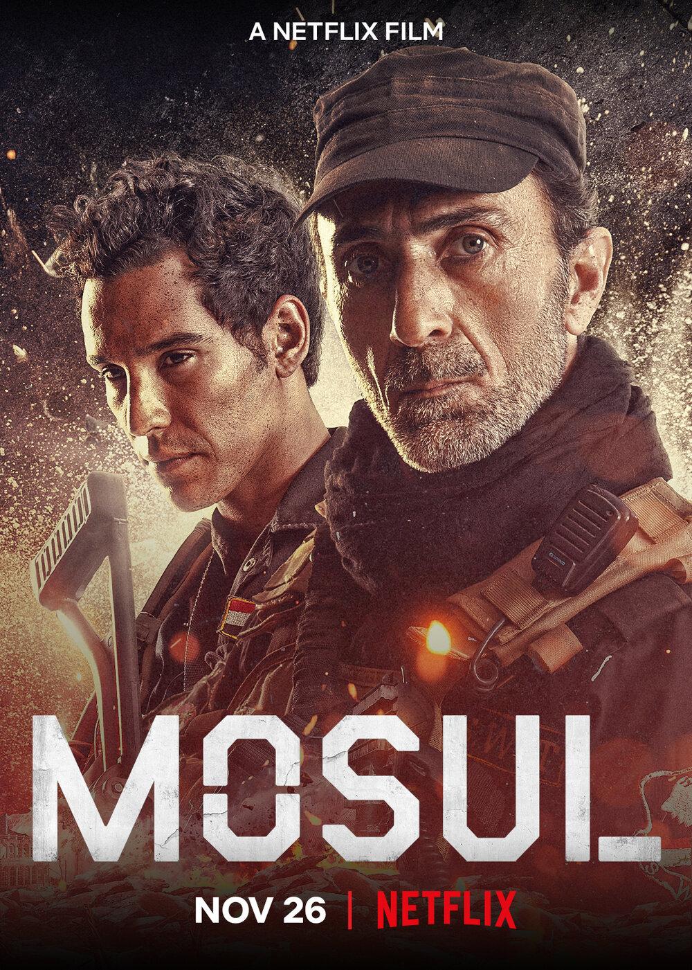 Mosul Netflix Poster