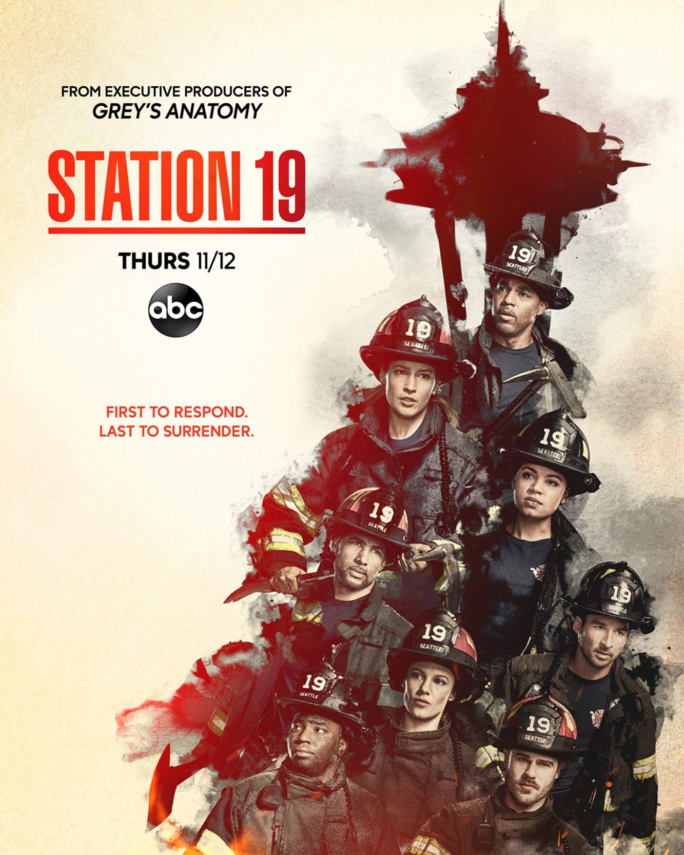Seattle Firefighters Staffel 4 Poster