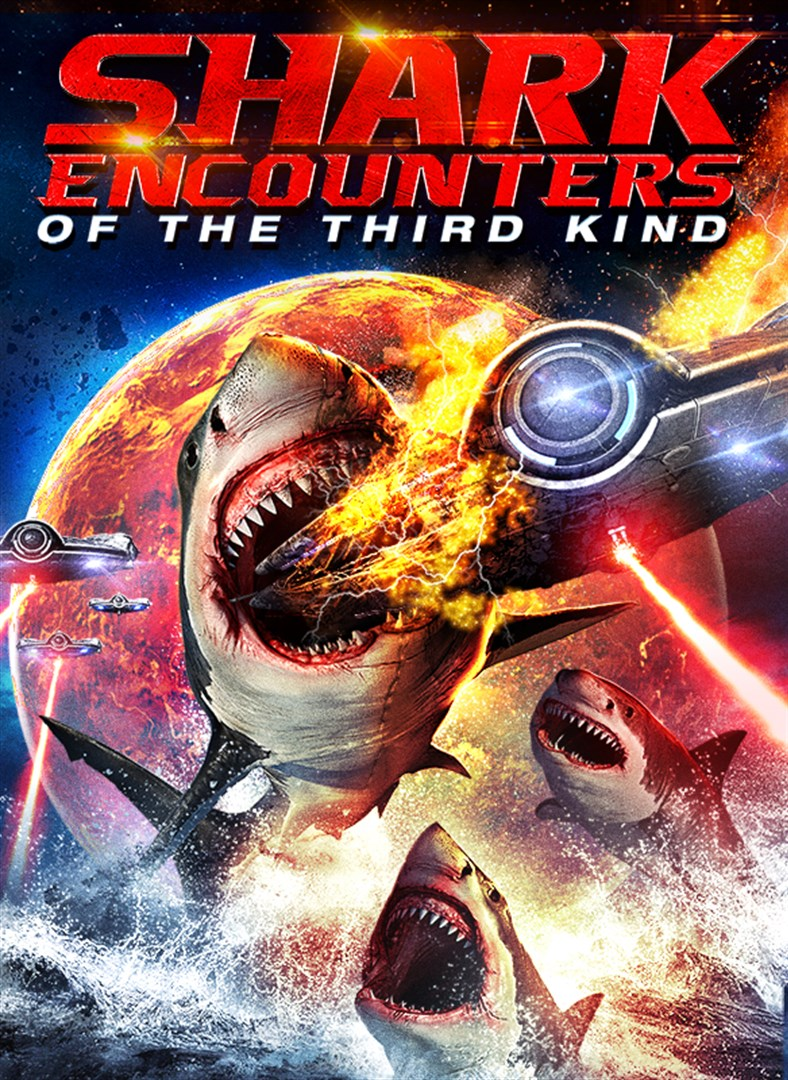 Shark Encounters of the Third Kind Trailer & Poster