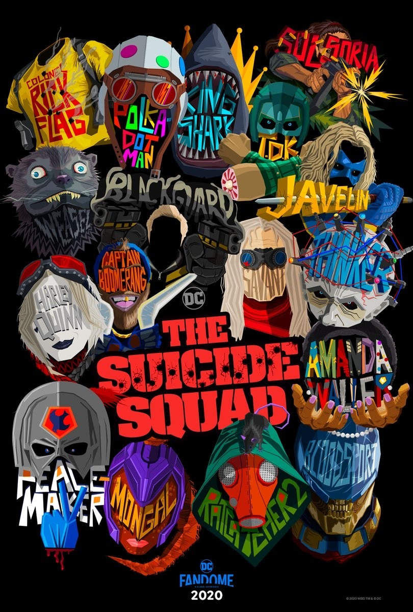 The Suicide Squad Sylvester Stallone Plakat 1
