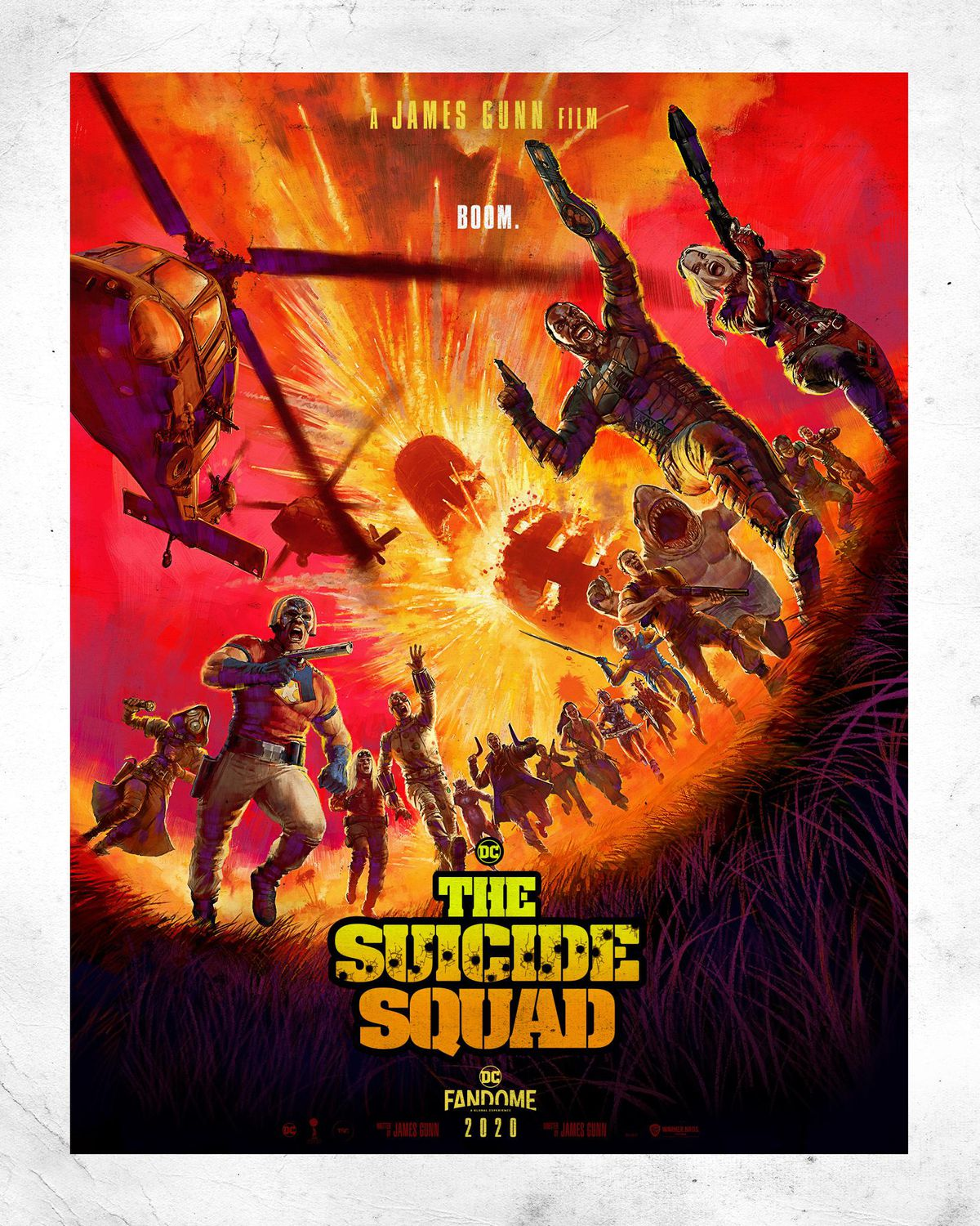 The Suicide Squad Sylvester Stallone Plakat 2