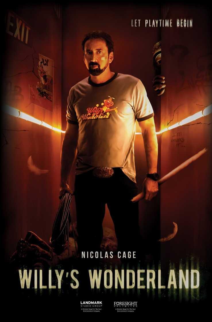 Willys Wonderland Nicolas Cage Poster