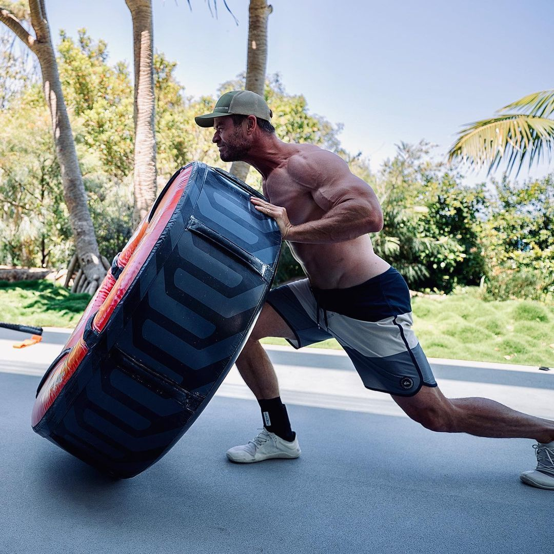Chris Hemsworth Muskeln 1