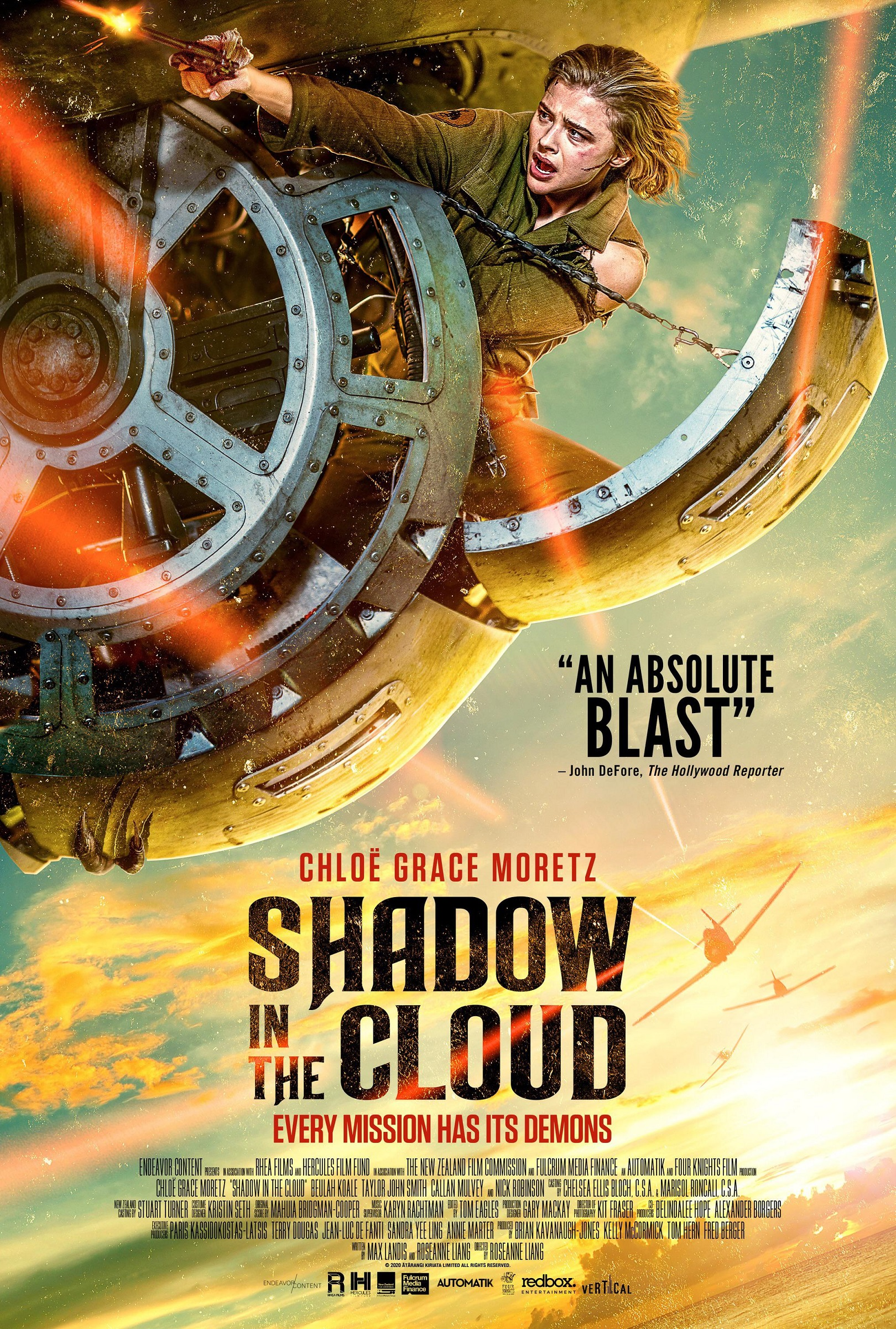 Shadow in the Cloud Chloe Moretz Poster 1