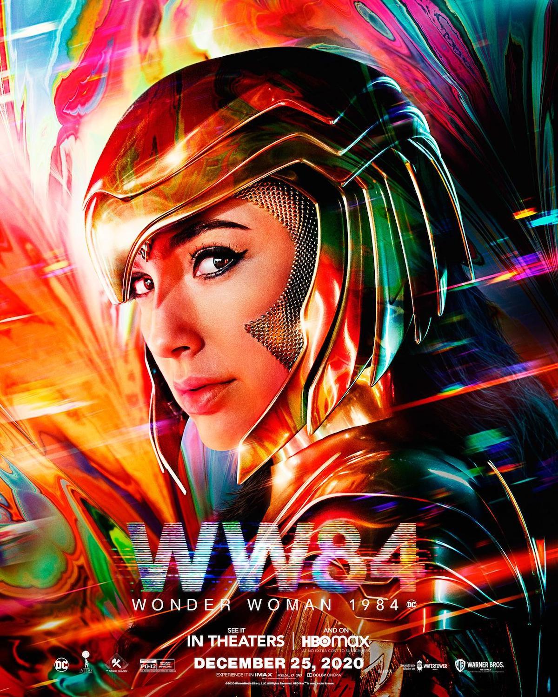 Wonder Woman 1984 Filmlänge Poster 1