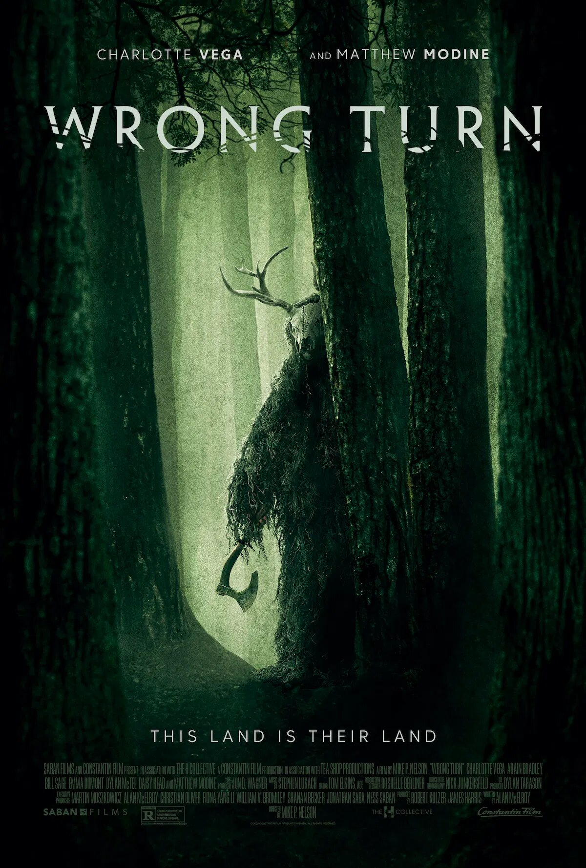 Wrong Turn Reboot Trailer & Poster