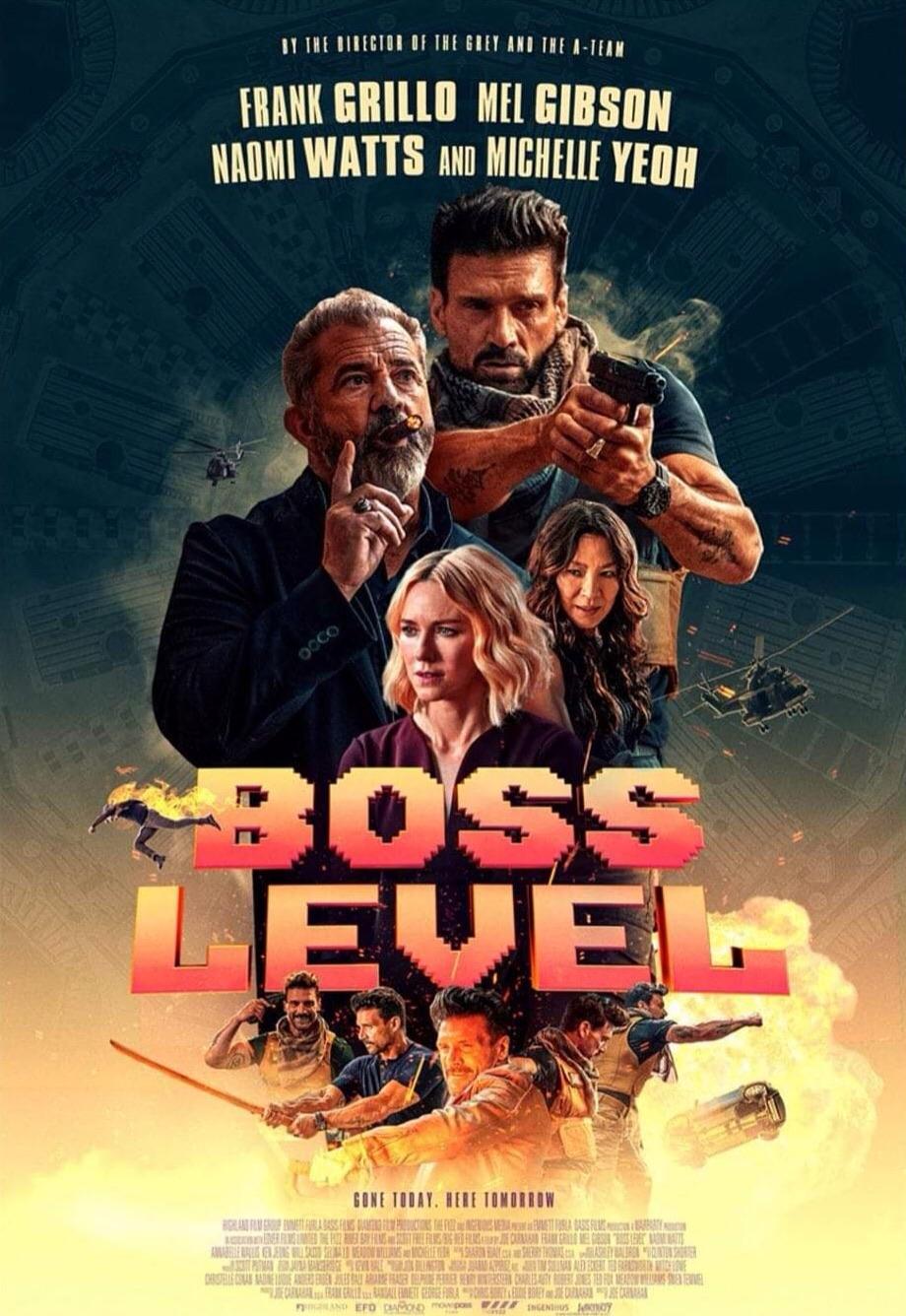 Boss Level Trailer & Poster