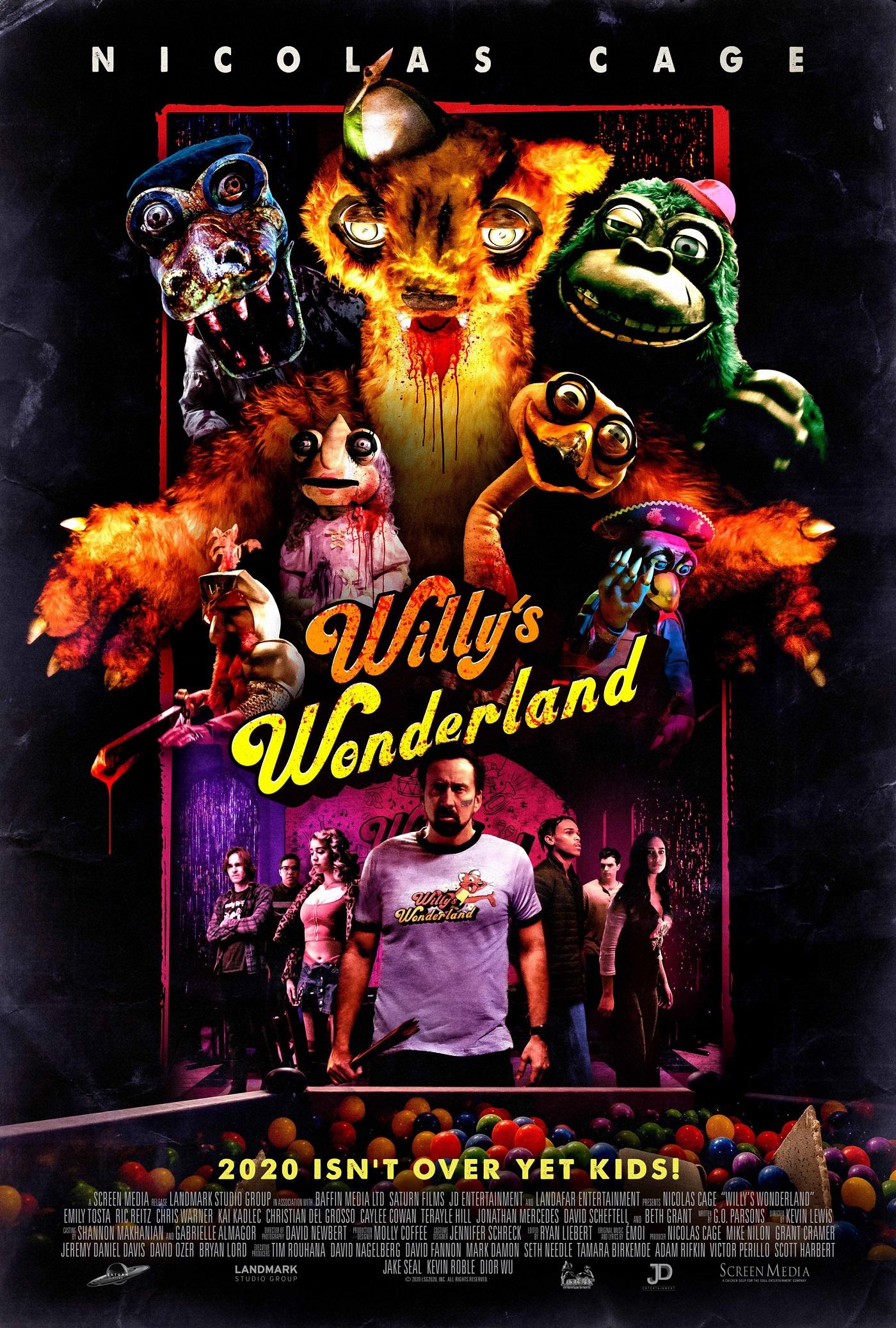 Willys Wonderland Trailer & Poster