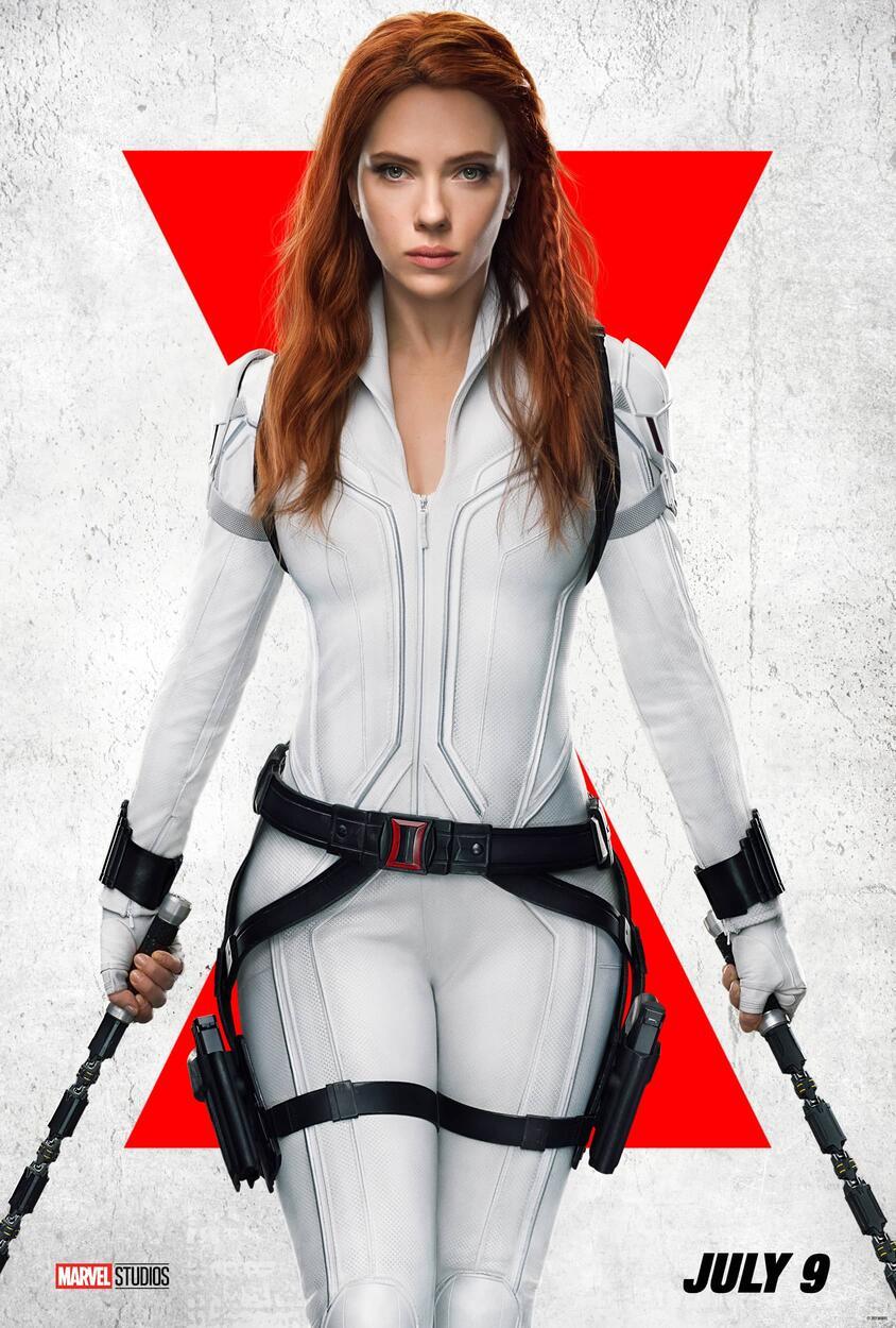 Black Widow Scarlett Johansson Trailer & Poster