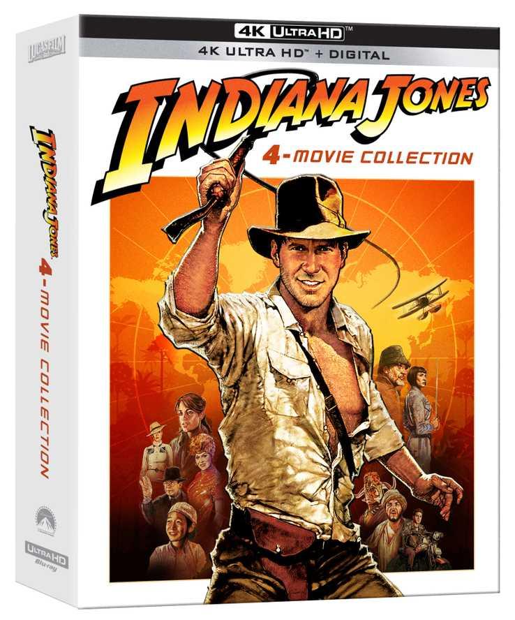 Indiana Jones 4K Collection