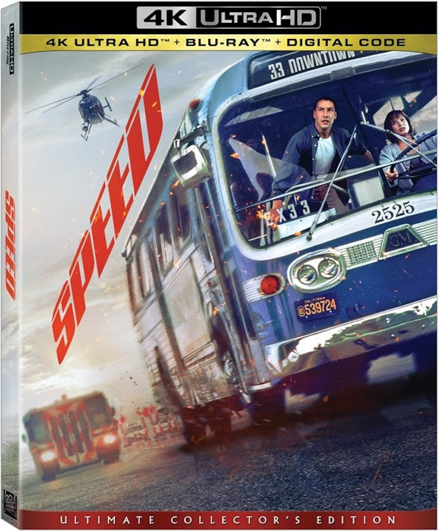 Speed 4K Blu-ray