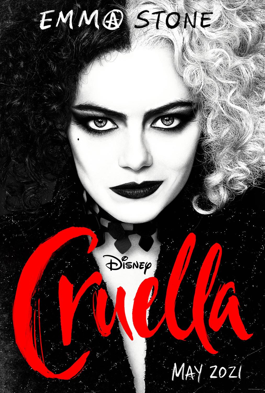 Cruella Disney Plus Plakat