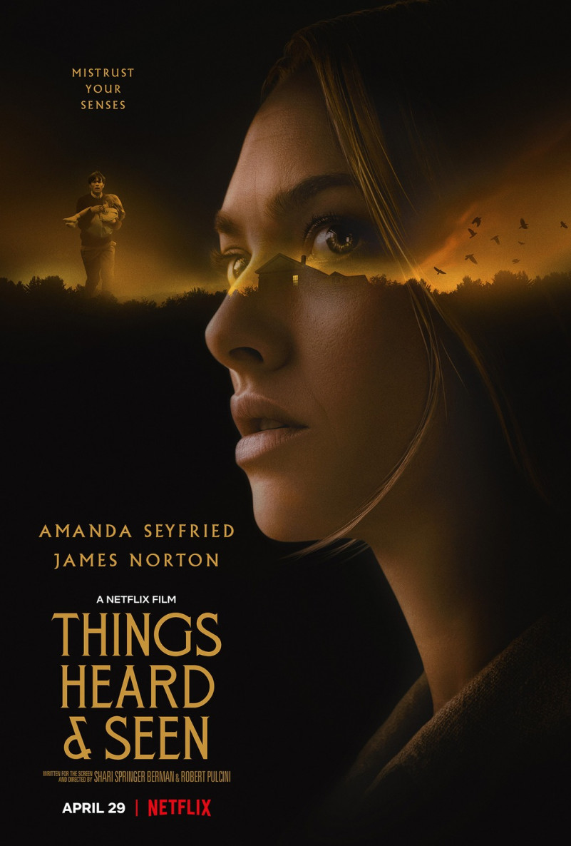 Things Heard and Seen Amanda Seyfried Poster