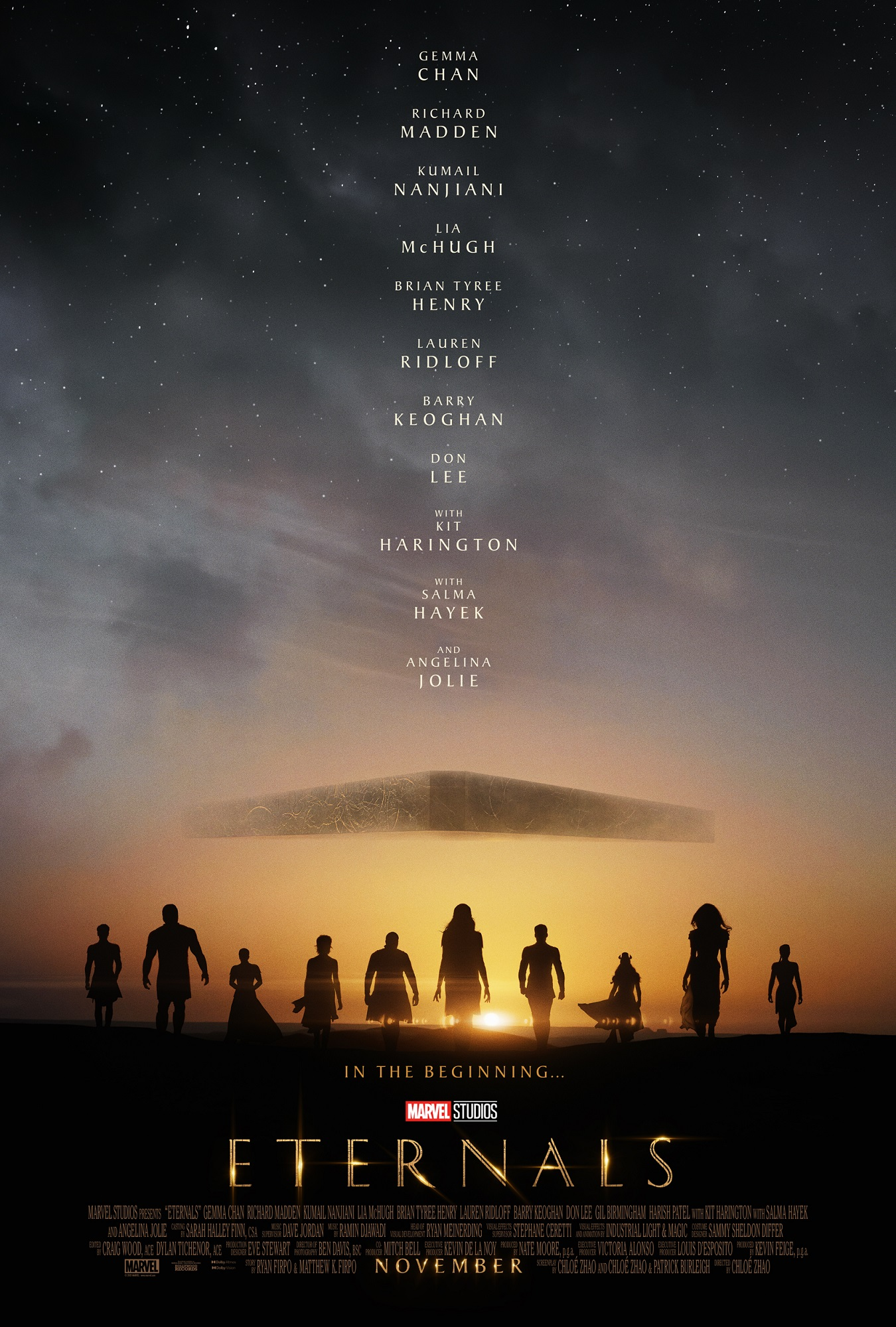 Eternals Teaser Poster