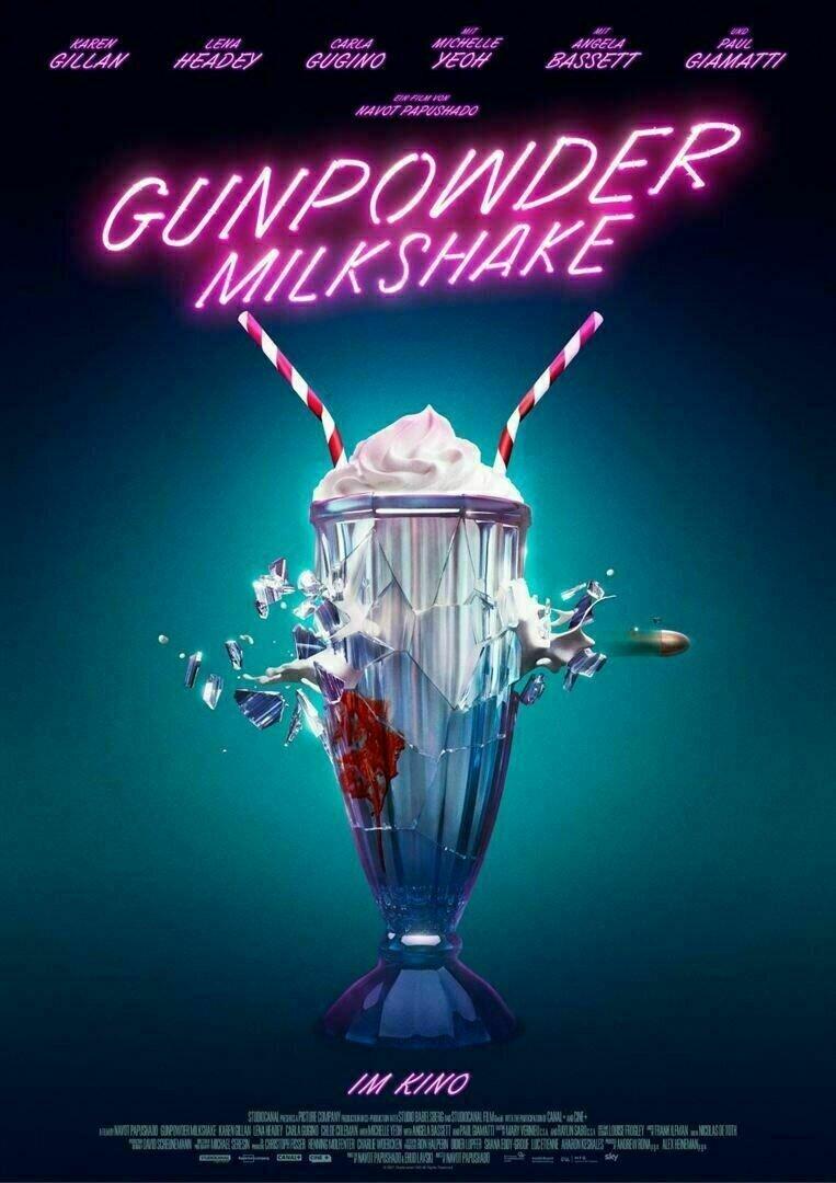Gunpowder Milkshake Trailer & Poster