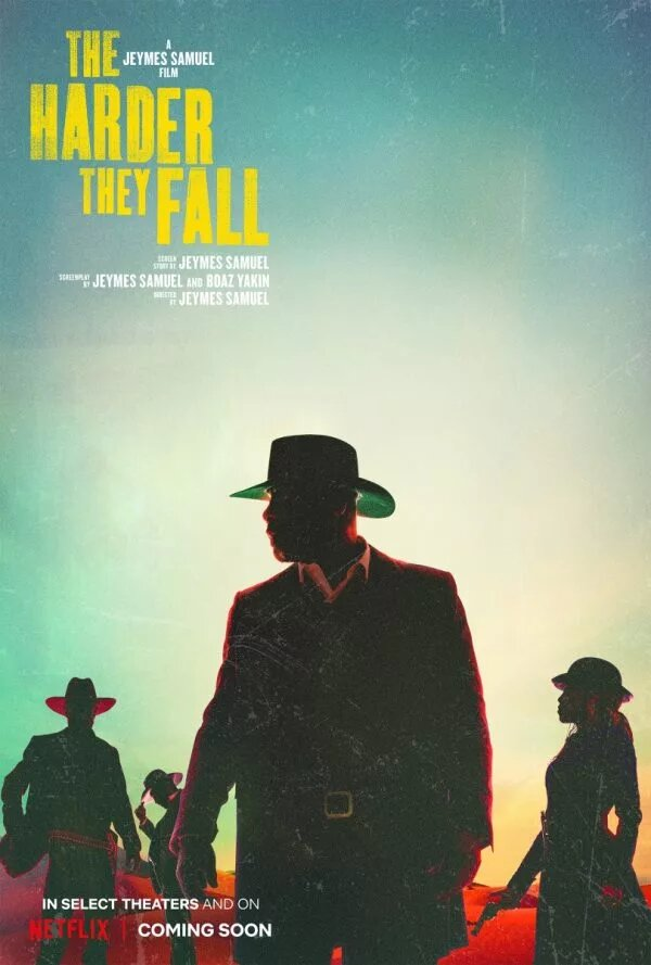 The Harder They Fall Teaser & Poster 1