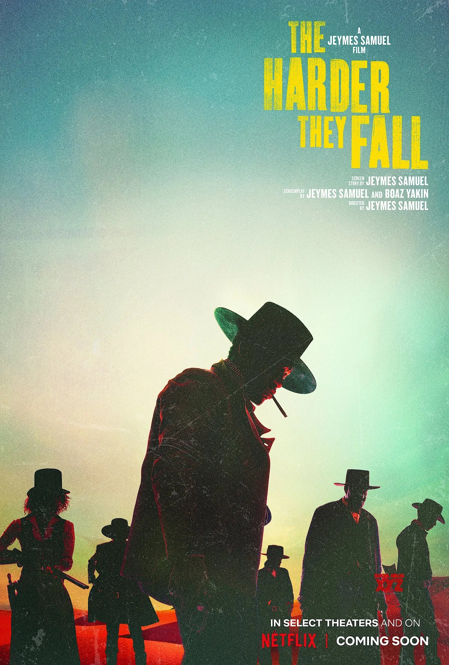 The Harder They Fall Teaser & Poster 2