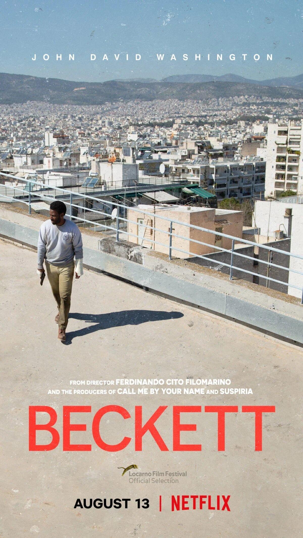 Beckett Netflix Trailer & Poster