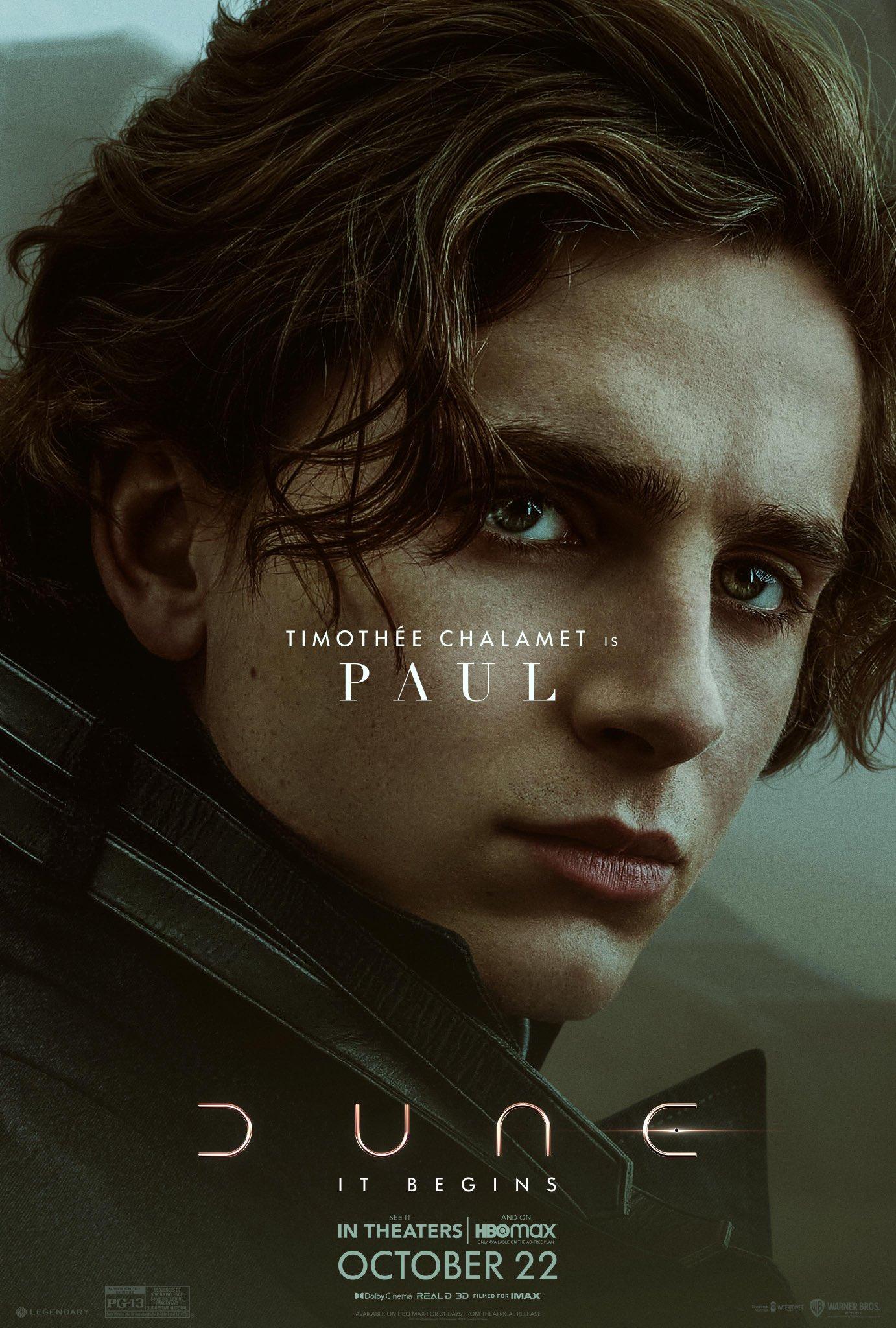Dune Film Trailer & Poster 1