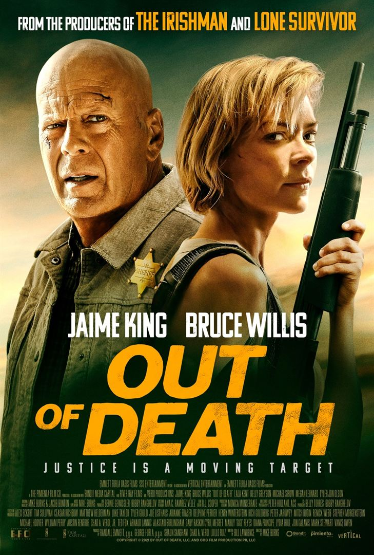 Out of Death Bruce Willis Poster