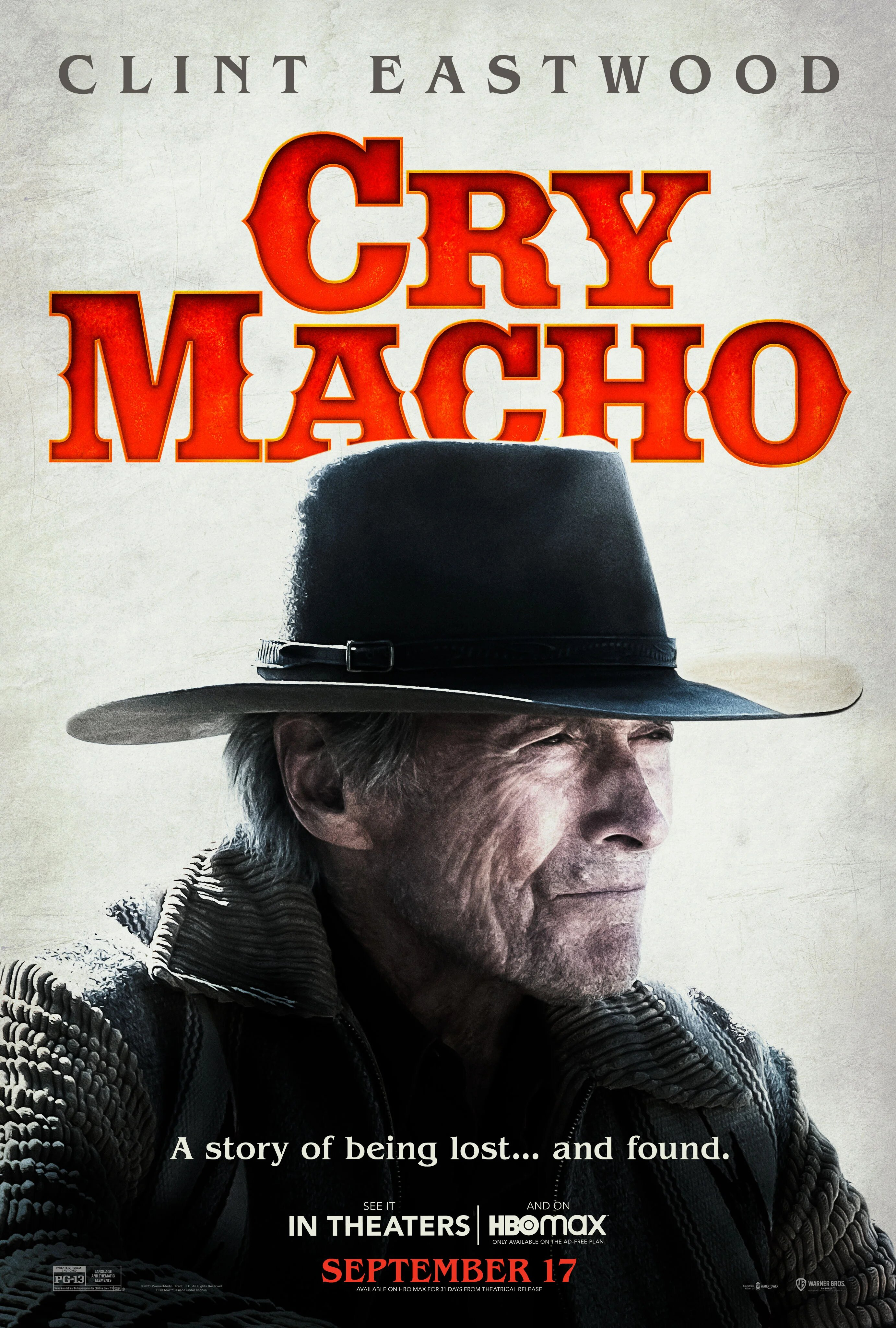 Cry Macho Clint Eastwood Poster