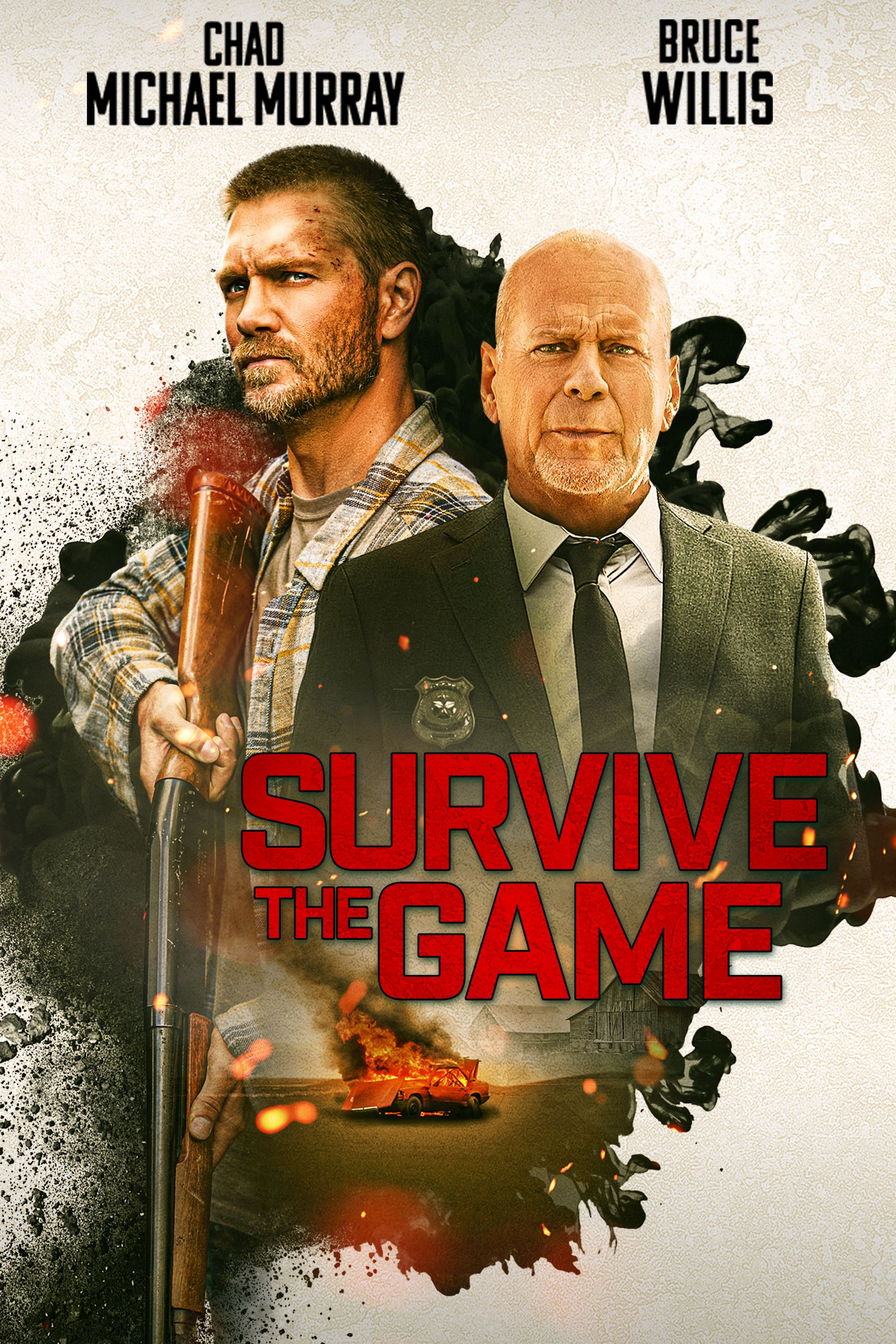 Survive the Game Bruce Willis Poster