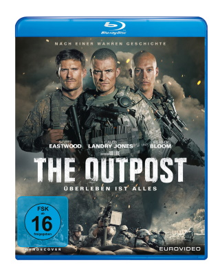 The Outpost (2019) Blu-ray Cover